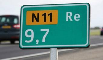 N11 volgend weekend in beide richtingen afgesloten