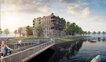 Bébouw Midreth en gemeente Purmerend ondertekenen overeenkomst voor realisatie van ca. 150 woningen op Kop West