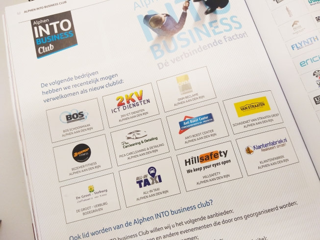 Alphen INTO business verwelkomt 11 nieuwe Business Clubleden