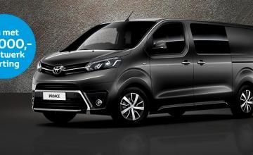 Toyota van Ekris heeft superactie