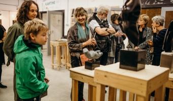 24e editie kunstroute Leiden met ruim 5.000 bezoekers een groot succes