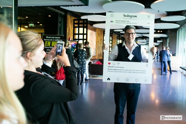 TEDx spreker Diederick Janssens op Startersdag Gouda