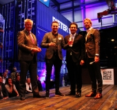 Clusius Dutch Tulip Vodka wint The Guts Award 2018