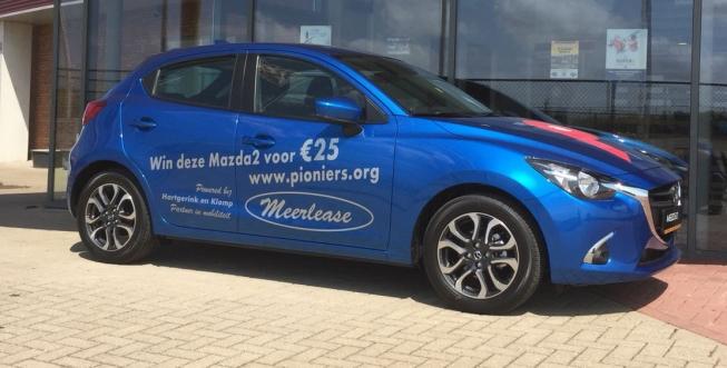 Win een Mazda 2 voor € 25,-