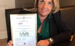 CCFacilities ontvangt MVO Keurmerk