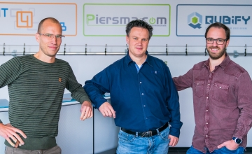 Piersma.COM, IT4WEB en Qubify vestigen zich op Businesspark Nieuw-Vennep Zuid