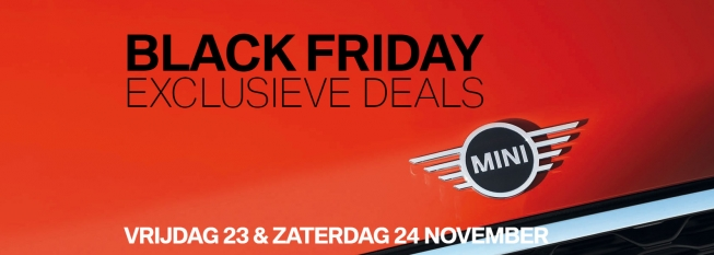 Black Friday bij Hans Severs