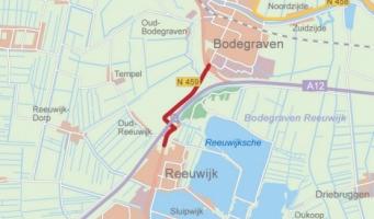 Weekendafsluiting kluifrotonde bij Bodegraven