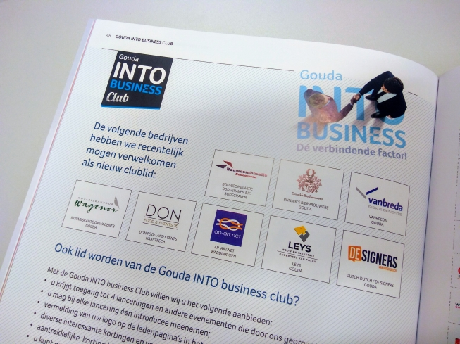 Nieuwe leden Gouda INTO business club