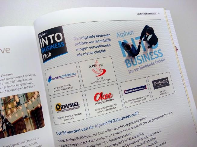 Nieuwe leden Alphen INTO business club