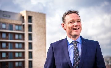 Aart Jan Verdoold (40) vertrekt aan het eind van dit jaar bij GREEN Real Estate B.V.