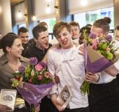 Horecatalenten Michelle en Dennis dolblij met Bokkedoorns Awards