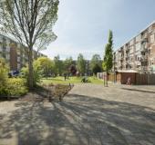 Drie flats bij Corantijnstraat en Paramaribostraat maken plaats voor nieuwbouw