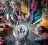 Prehistorisch weekend in Archeon Museumpark