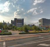 Kweektuin naast Leiden Centraal wordt omgetoverd tot paviljoen met werkruimtes en horeca