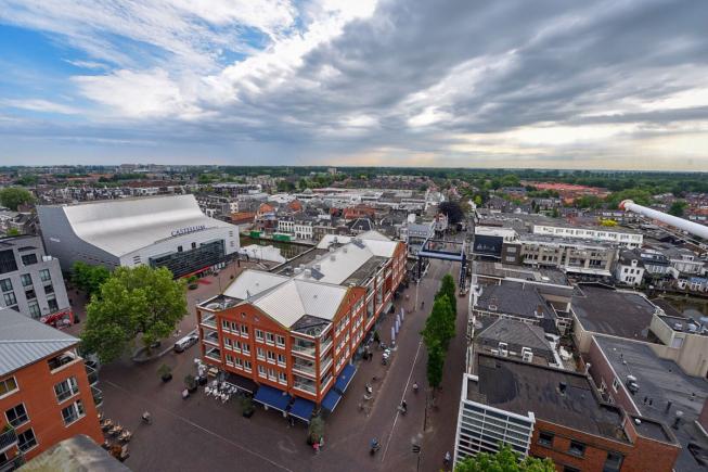 Heeft Alphen het schoonste winkelgebied van Nederland?