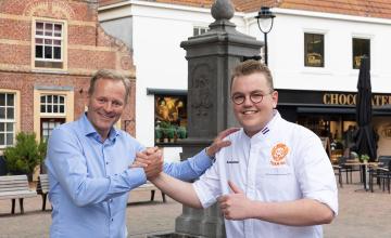 Bezoek aan student-patissier Bas Klarenbeek