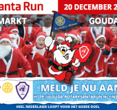 20 december Santa Run in Gouda