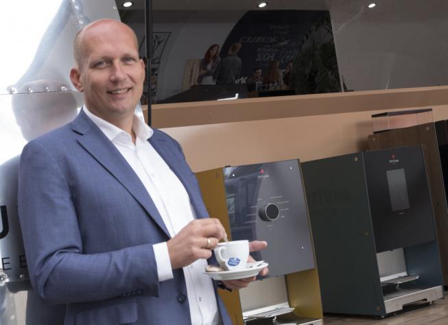 'Met onze nieuwe koffieautomaten zijn wij klaar voor de toekomst'