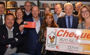 Mooi bedrag tijdens sponsorontbijt voor Ronald McDonald Huis Leiden