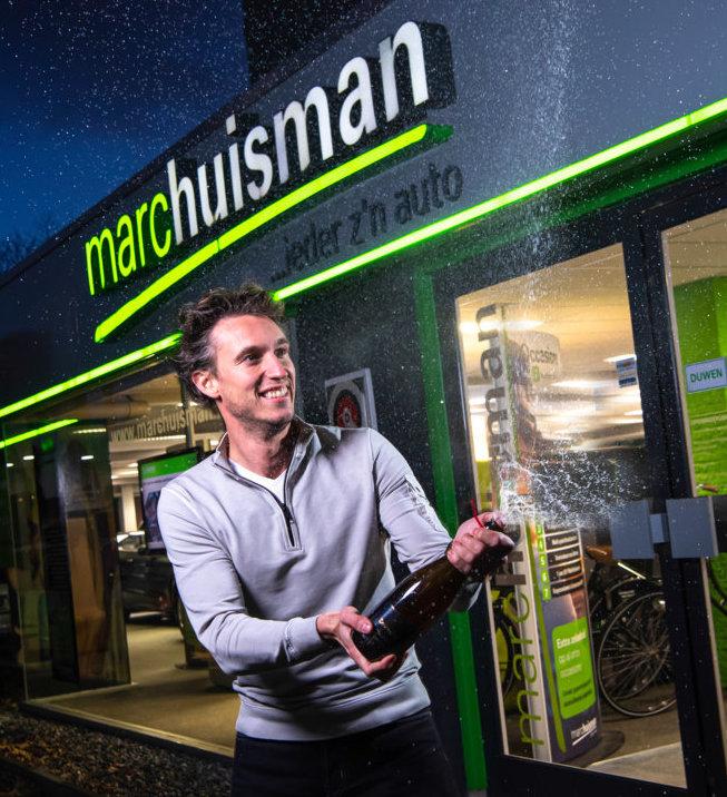 Marc Huisman Autobedrijf bestaat 10 jaar