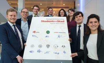 StudentenStad bekrachtigen partnerschap