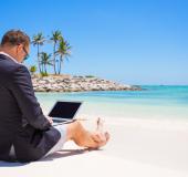Van Diemen PR en Continews openen pop up kantoor aan het strand