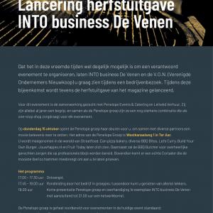 Lancering herfstuitgave INTO business De Venen