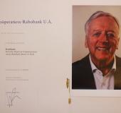 Rvc voorzitter Fred Ensel neemt na 10 jaar afscheid van Rabobank Amstel en Vecht