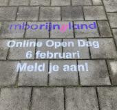 Ludieke stoepkrijtactie mboRijnland