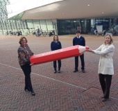 170 studenten mboRijnland in actie om Tweede Kamer verkiezingen coronaproof en veilig te laten verlopen
