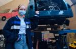 Donna kiest voor werkbezoek bij autobedrijven tijdens Digimatch