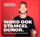 EK-spelers De Jong en Gakpo in campagne Match van je Leven