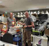 Energiebank schenkt led-lampen aan Meerwinkel