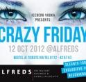 Crazy Friday bij Alfreds