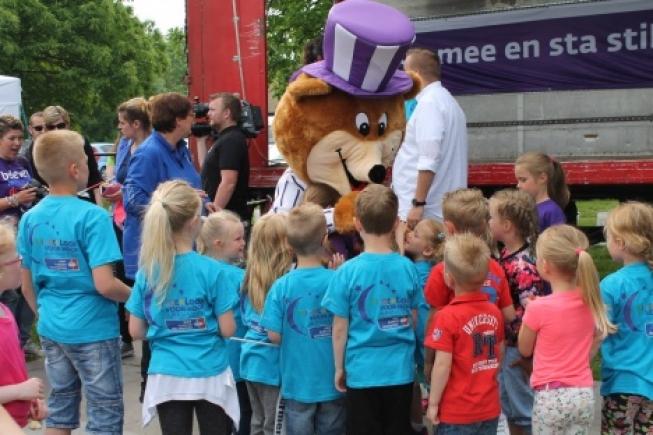 KinderLoop tijdens SamenLoop voor Hoop 2018 Alphen