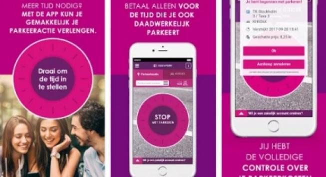 EasyPark nu ook in Alphen aan den Rijn te gebruiken