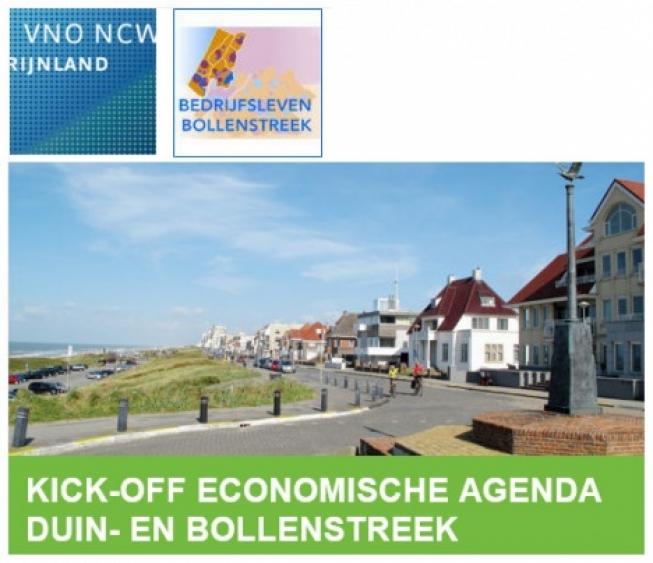 Kick-off Economische Agenda Duin- en Bollenstreek door Bedrijfsleven Bollenstreek en VNO-NCW Rijnland