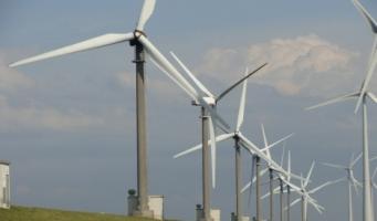 Energie van windmolens nu op helft van doelstelling 2020
