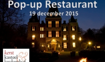 19 december Pop-up Restaurant bij Kasteel Keukenhof
