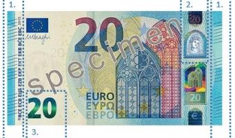 Nieuw biljet van 20 euro in omloop