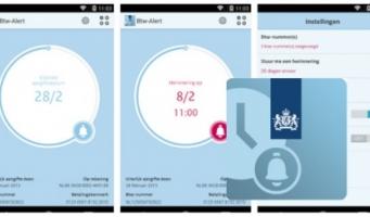 Btw-Alert app van de belastingdienst