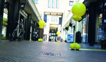 Gele sticker dagen! 8,9, 10 oktober 2015 in Katwijk