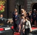 Koningspaar en Chinese president op Kasteel Keukenhof