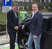 Gemeente Hillegom plaatst oplaadpunten voor elektrisch rijden