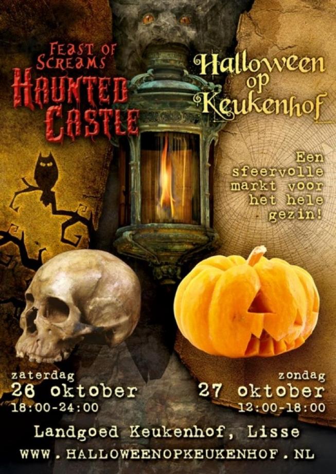 Waar Wordt Halloween Gevierd.Halloween Wordt Groots Gevierd Bij Kasteel Keukenhof In