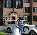 Huwelijk Samantha en Russell uit Canada