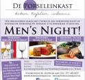 """De Porseleinkast organiseert """"Men's Night"""""""
