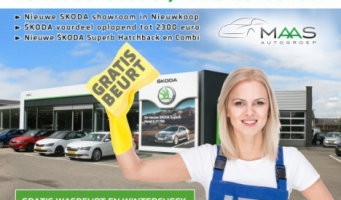 Maas Autogroep inspireert met vernieuwde SKODA showroom en voordeelacties