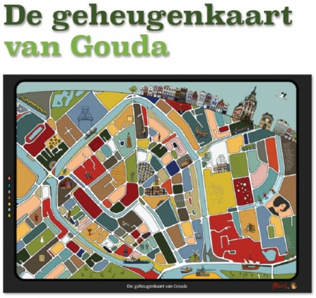 De Geheugenkaart van Gouda